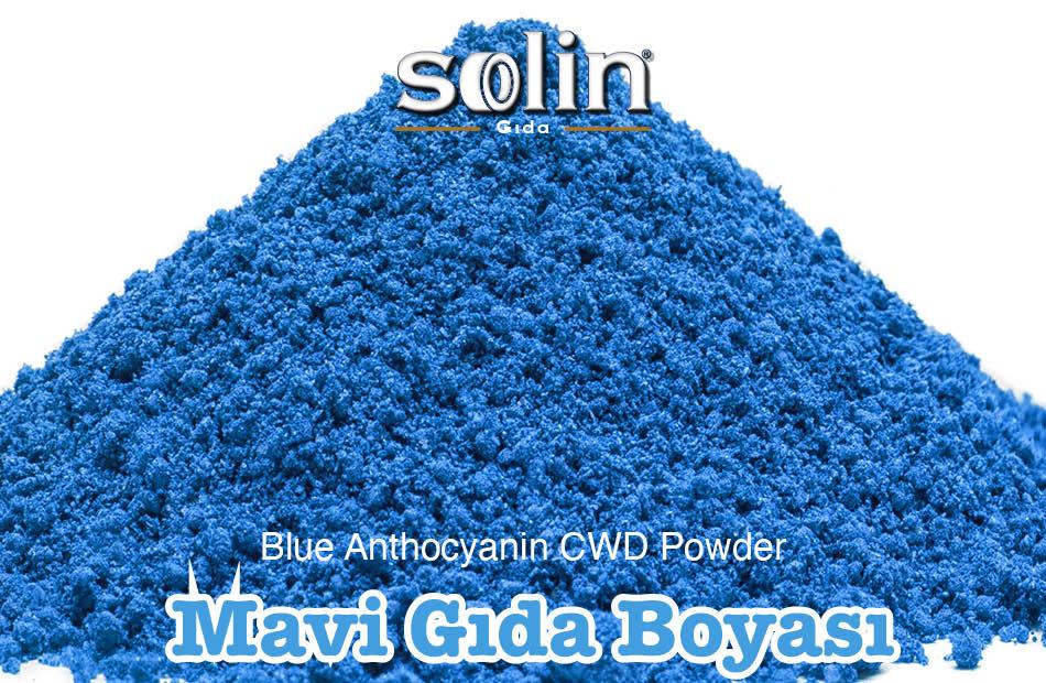 Blue Anthocyanin CWD Powder