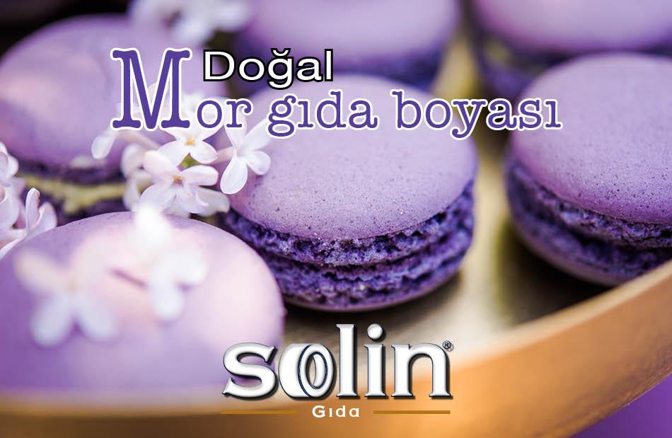 Mor GIda Boyası Natural Purple Solin Gıda