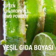 Yeşil Gıda Boyası Klorofil
